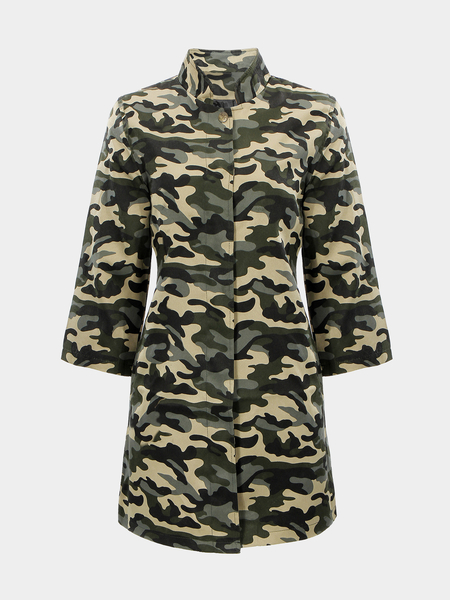 Camouflage Cappotto