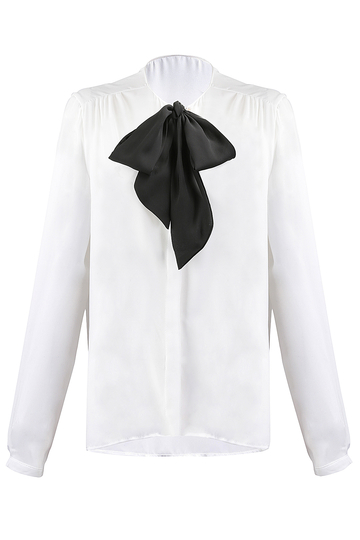 Blouse Bow Detail
