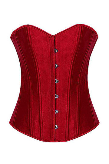 Red Body Corset Co-ord