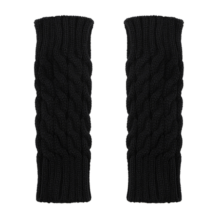 Preto Cable Knit Handwarmer