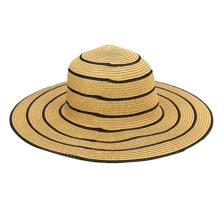Crushable Femmes Summer Beach Straw Floppy Sun Hat