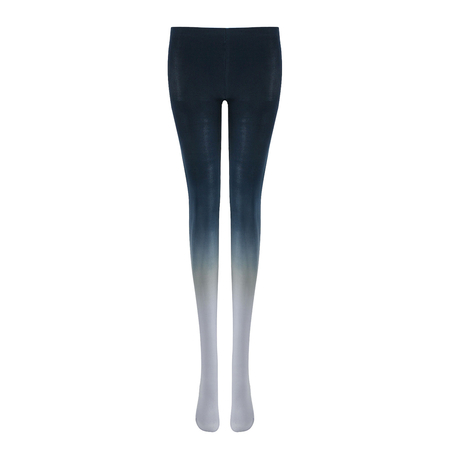 Gradient Tights in Navy