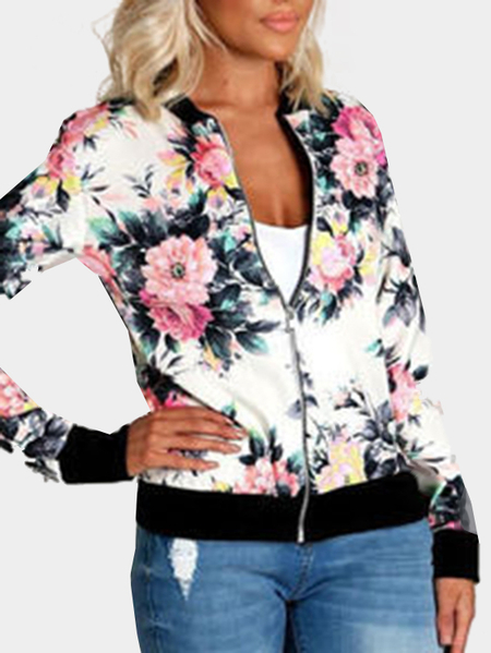 Casuale stampa floreale Fashion Bomber