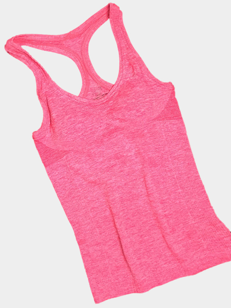 Pink Sports Racer Volver Chaleco