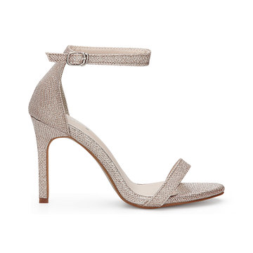 Buy Golden Cross Strap High Heels Ankle Pin Buckle