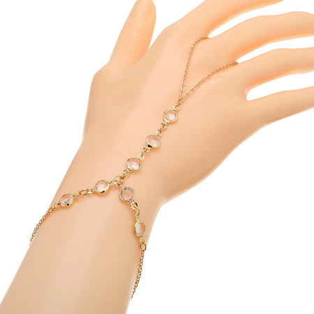 Bracciale Crystal Golden Artificiale