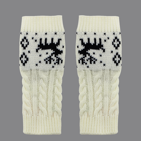Cable Knit Handwarmer