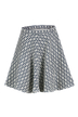 Skirt With Geometric Pattern