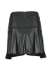 Mini Skirt with Wrap Front