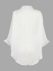 Blouse with Batwing Sleeve