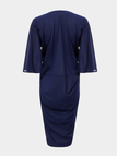 Dress with Wrap and Twist Front