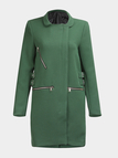 Stand Collar Duster Coat