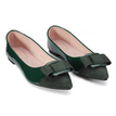 Bow Flat Pointed Shoes