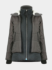Padded Parka in Grey