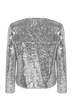 Blazer with Sequin Detail in Silver
