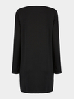 V-neck Dress with Zip Front
