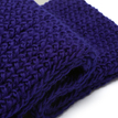 Royal Blue Cosy Knitted Infinity scarf
