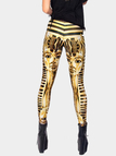 Fashion Yoga Leggings with Pharaoh Print