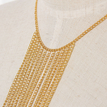 Gold Halter Tassels Body Chain