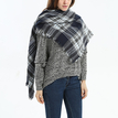 Square Tartan Scarf in Check