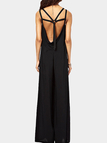 Backless Jumpsuit in Black