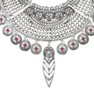 Turkish Palace Fashion Coin Pendant Necklace