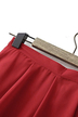 Pleated Culottes in Red