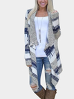 Fashion Layered Irregular Hem Cardigan