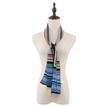 Geometrical Printing Scarf in Black
