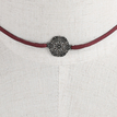 Red Fashion Adjustable Pendant Necklace