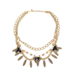 Retro Double Row Necklace