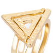 Pack of Three Open Triangle Rings