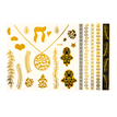 Waterproof Jewelry Metallic Temporary Body Tattoo Sticker