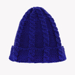 Royal Blue Cable Knit Beanie Hat