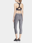 Crey Black-lined Cropped Sport Leggings