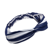 Stripe Twist Front Knotted Headband