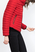 Red Anorak with Furry Collar