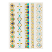 Luminous Metallic Temporary  Body Tattoo Sticker