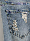Rips Details Skinny Jeans