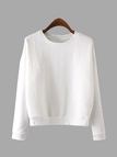 Long Sleeves Top in White