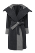 Lapel Trench Coat with Belt