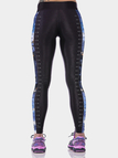 Criss Cross Contrast Panel Yoga Leggings
