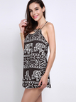 Cami Dress With Elephant Print