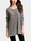 Classic Long Sleeves Round Neck Sweater