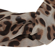 Fashion Leopard Chiffon Knotted Stretch Headband