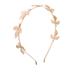 Seven Golden Leaves Head Band