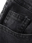 Black Flared Jeans with Five Classic Pockets