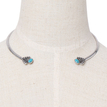Artificial Turquoise Torque Necklace