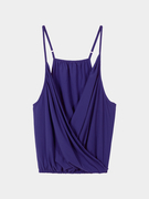 V profond Cami Top In Purple