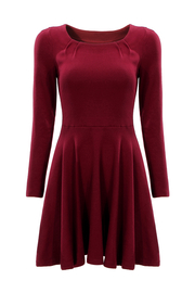 Skater Dress con maniche lunghe